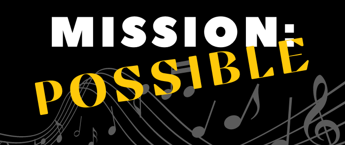 mission: possible key chorale